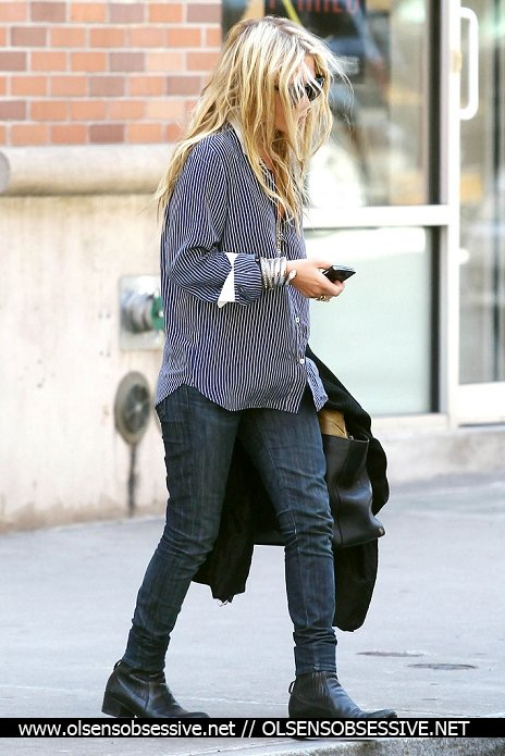 Mary Kate Olsen de sortie. New York