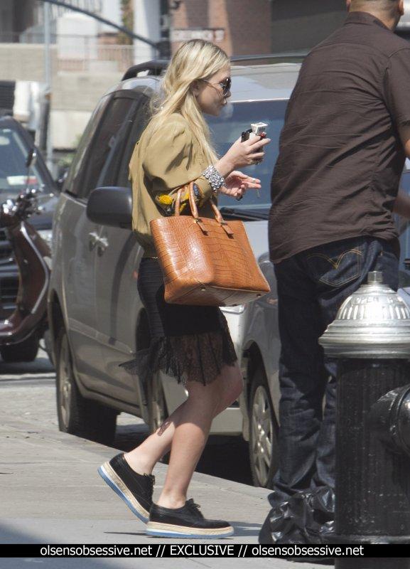 Les soeurs Olsen de sortie. New York