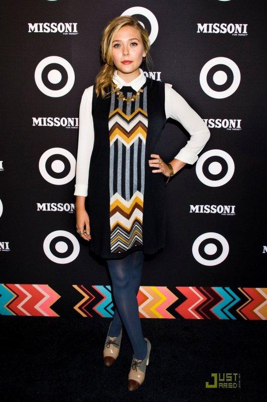 Camilla Belle, Emma Roberts, et Elizabeth Olsen à une soirée organisée par Missoni. New York