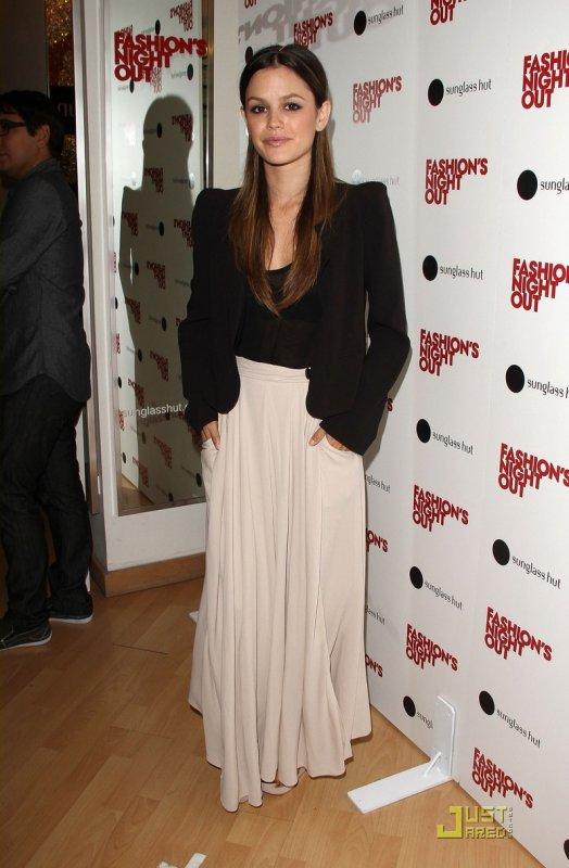 Rachel Bilson à la Fashion's Night Out. Los Angeles