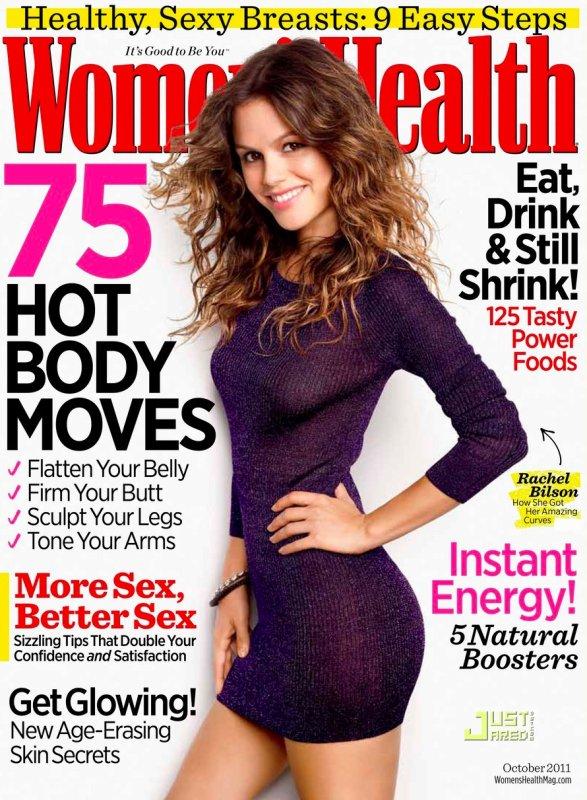 Rachel Bilson pose pour Women's Health.