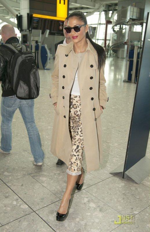 Nicole Scherzinger de sortie.