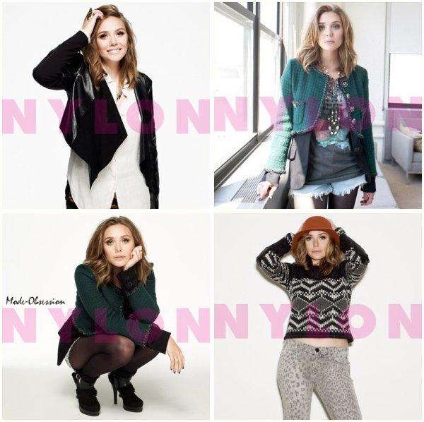 Elizabeth Olsen pose pour Nylon.
