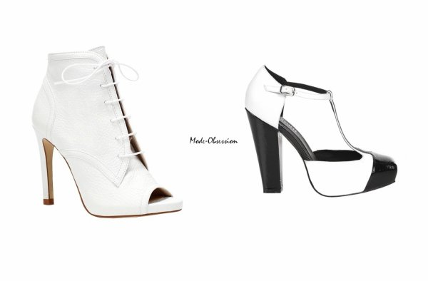 White Shoes source : WhoWhatWear.com