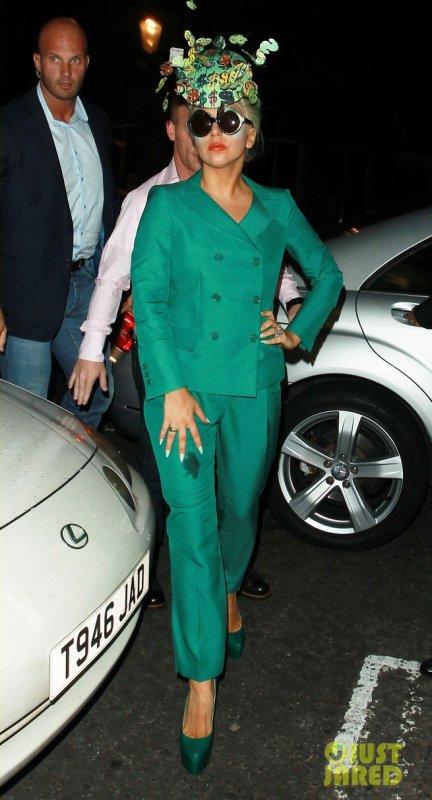 Lady Gaga de sortie.