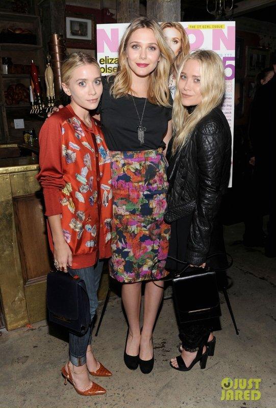 Les soeurs Olsen à un évènement du magasine Nylon.