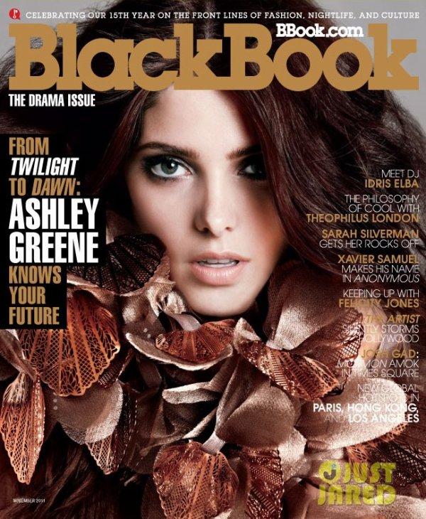 Ashley Greene pose pour Blackbook Magazine.