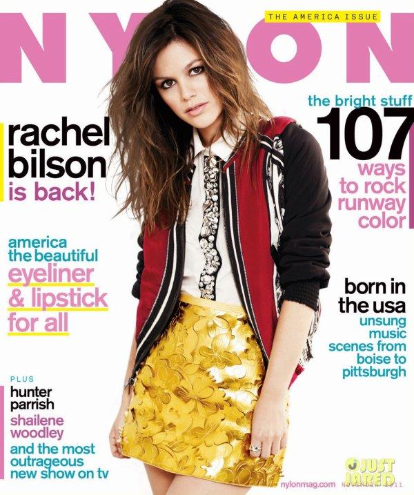 Rachel Bilson pose pour Nylon.