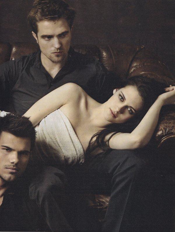 Les acteurs de Twilight posent pour Entertainment Weekly.