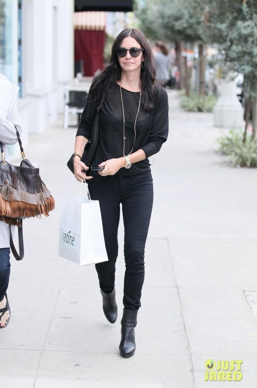 Courtney Cox de sortie.