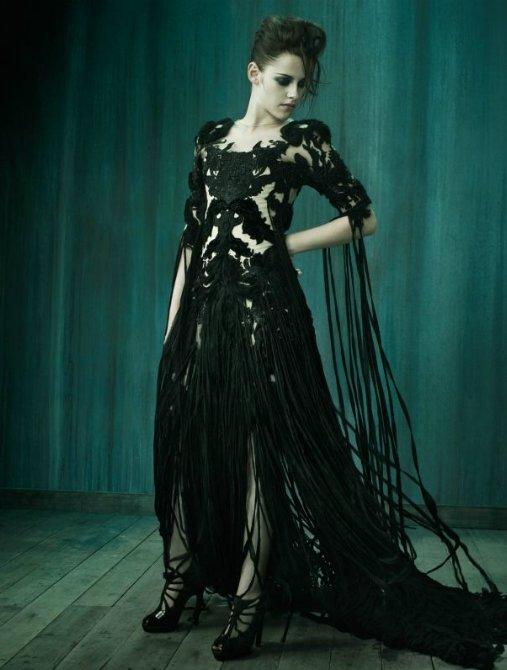 Kristen Stewart pose pour le Vogue Italien.