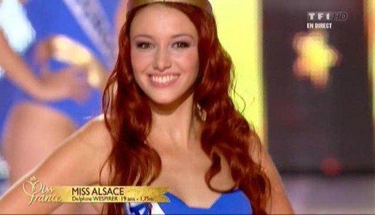 Miss France 2012 : Miss Alsace, Delphine Wespiser