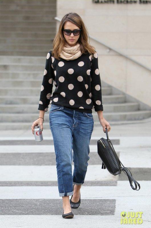 Jessica Alba de sortie. Beverly Hills