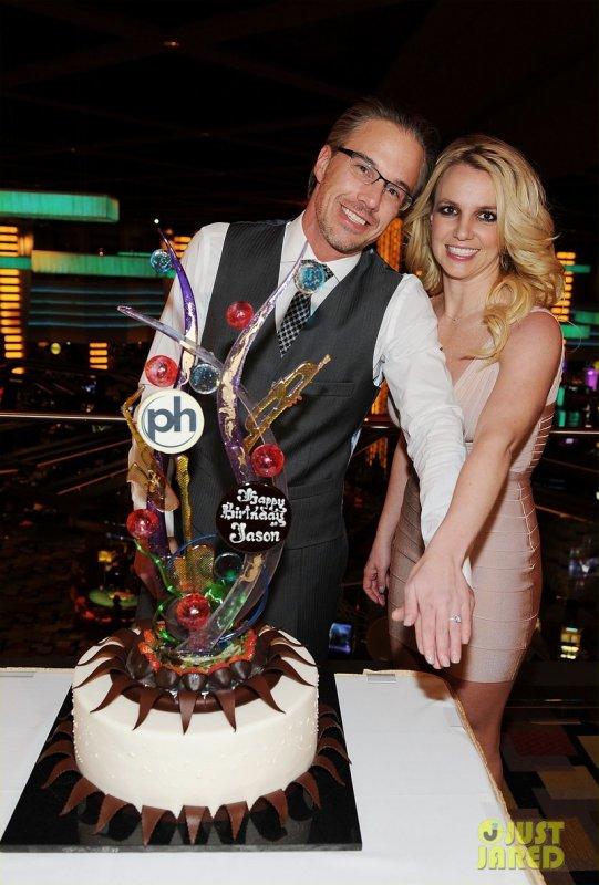 Britney Spears à la fête d'anniversaire de son fiancé. Las Vegas