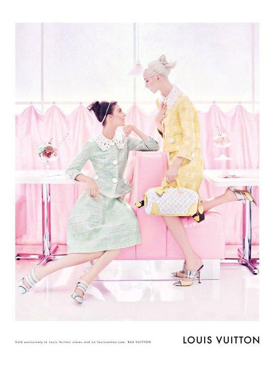 Louis Vuitton printemps / été 2012