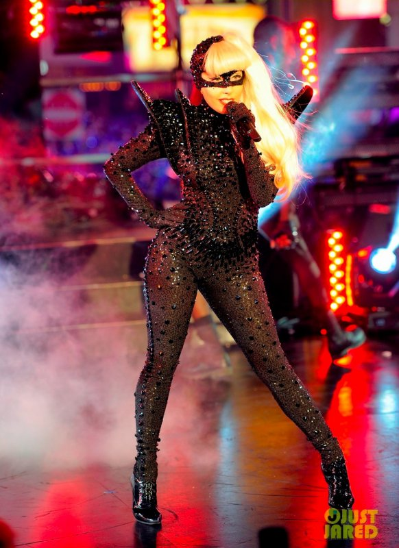 Lady Gaga pour le nouvel an. New York