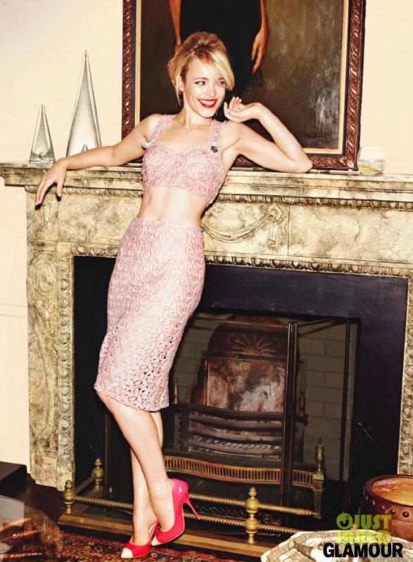 Rachel Mcadams pose pour Glamour.