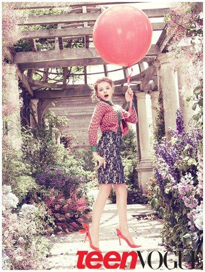 Chloé Moretz pose pour Teen Vogue.