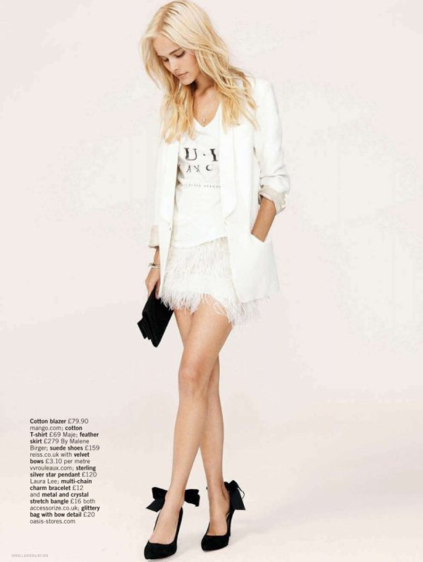 Isabel Lucas pose pour Glamour.