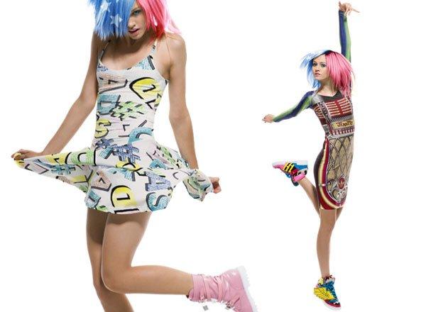 Jeremy Scott x Adidas printemps / été 2012