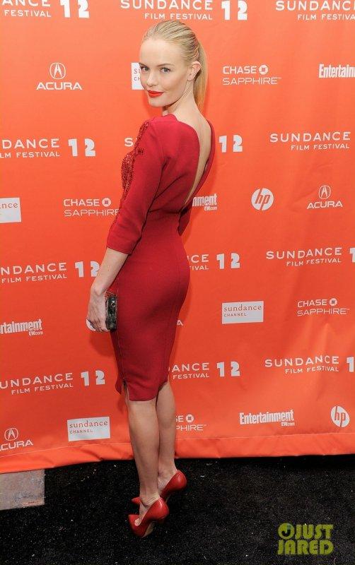 Kate Bosworth à la première de son nouveau film. 2012 Sundance Film Festival