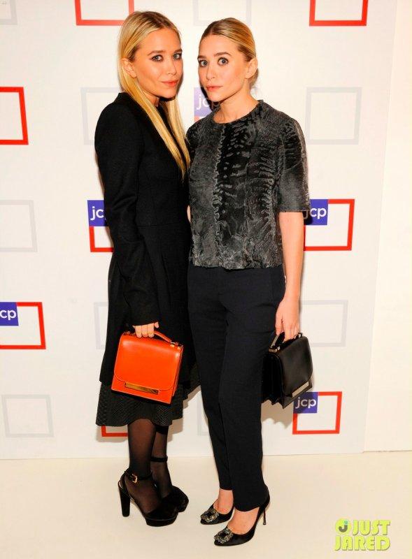 Les soeurs Olsen à un évènement. New York