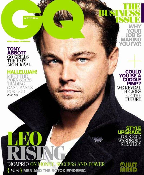 Leonardo Dicaprio pose pour GQ.
