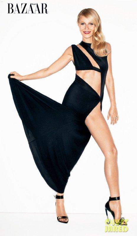 Gwyneth Paltrow pose pour Harper's Bazaar.