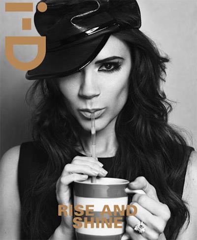 Victoria Beckham pose pour I-D Magazine.