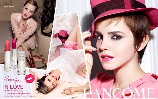 Emma Watson pour Lancôme.
