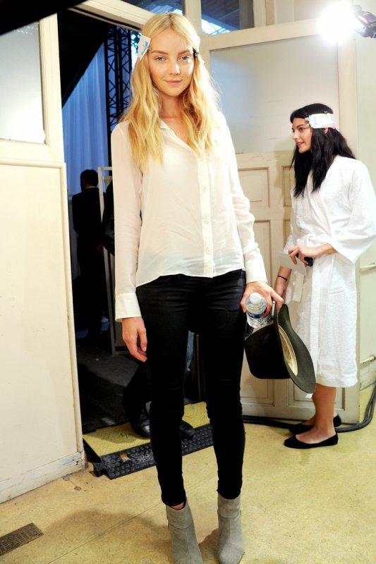 DÉFILÉS PRÊT À PORTER PRINTEMPS-ÉTÉ 2012 Dans les coulisses : Givenchy