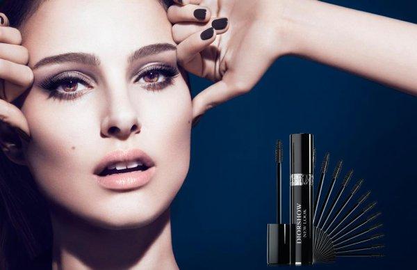 Natalie Portman pose pour Dior.