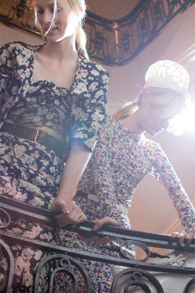 Nina Ricci s'expose au Bon Marché. source : Vogue.fr