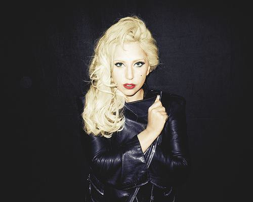Lady Gaga photographiée par Terry Richardson.