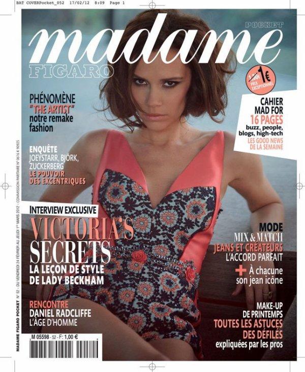 Victoria Beckham pose pour Madame Figaro.