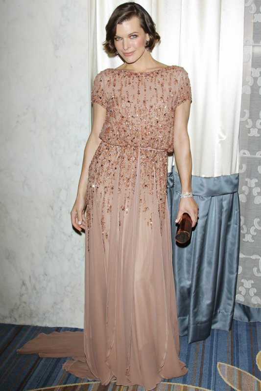 Milla Jovovich à un évènement.