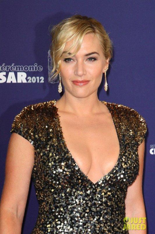 Kate Winslet à la Cérémonie des Césars 2012.