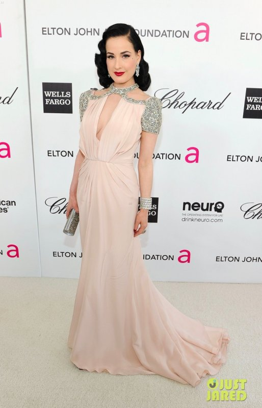 Cérémonie des Oscars 2012 Elton John AIDS Foundation Academy Awards Viewing Party