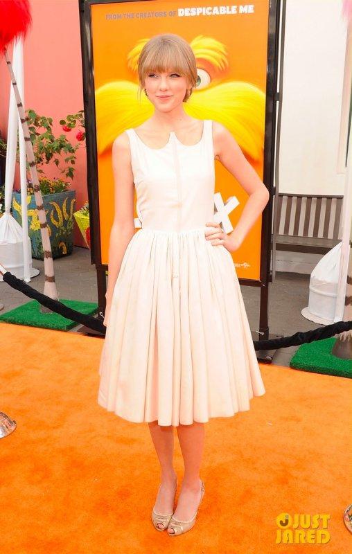 Zac Efron et Taylor Swift à la première du film Lorax.