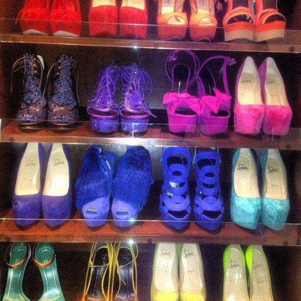 Le shoesing de Kim Kardashian.