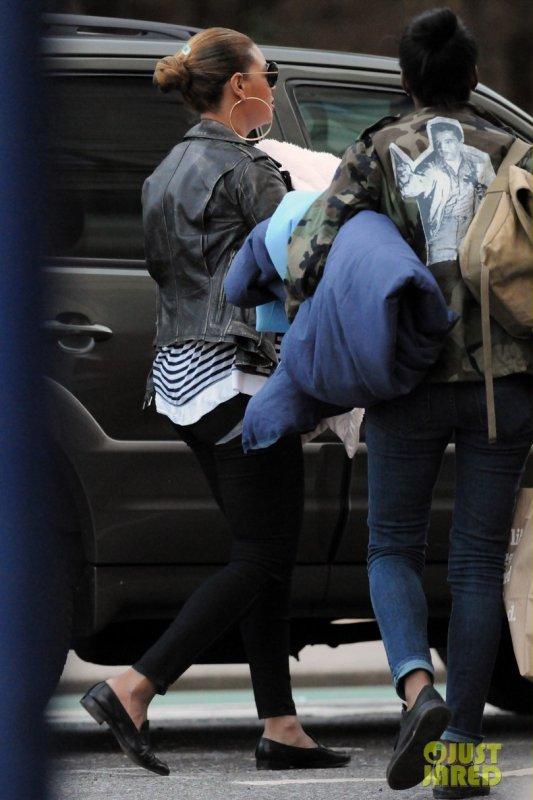 Beyonce de sortie avec sa fille.