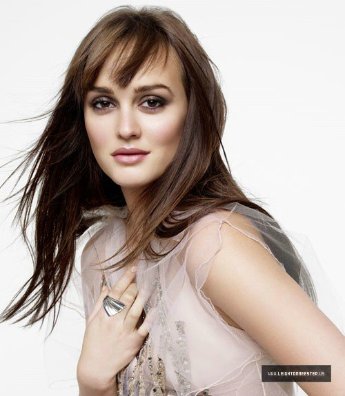 Leighton Meester pose pour Marie Claire.
