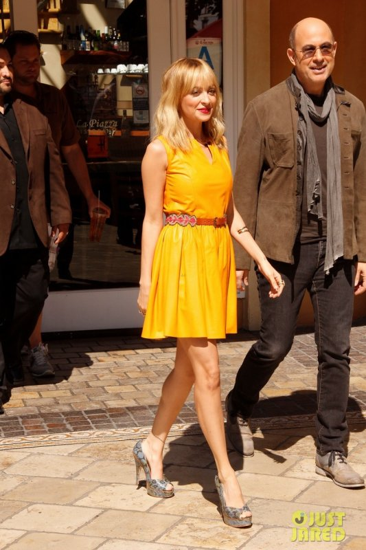 Nicole Richie se rend sur un plateau télé. Los Angeles