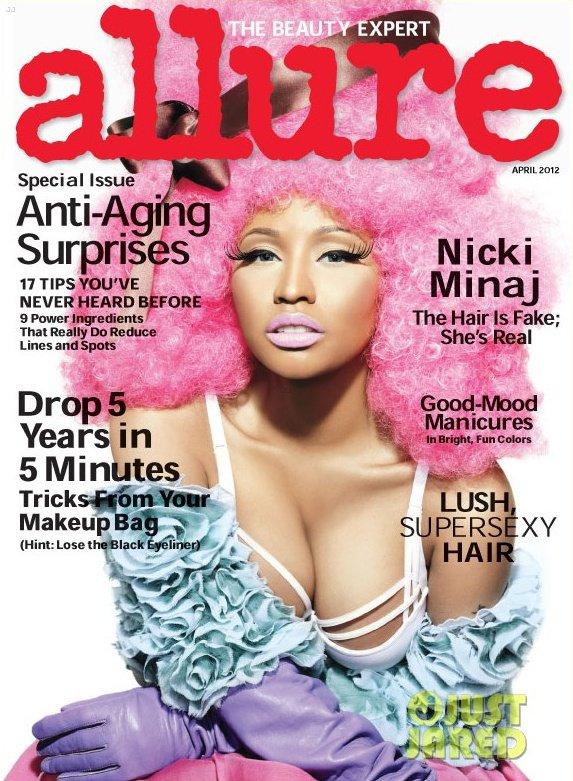 Nicki Minaj pose pour Allure.