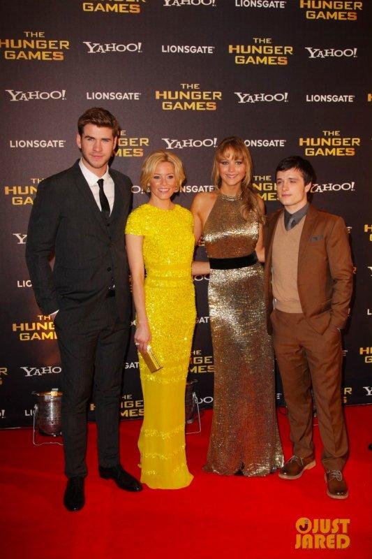 Première du film Hunger Games Londres