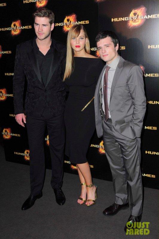 Première du film Hunger Games Paris