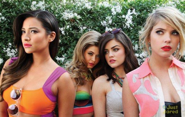 Les actrices de Pretty Little Liars posent pour Bullett Magazine.