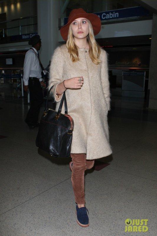 Elizabeth Olsen de sortie.