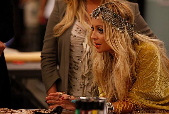 Nicole Richie et Jessica Simpson dans l'émission Fashion Star.