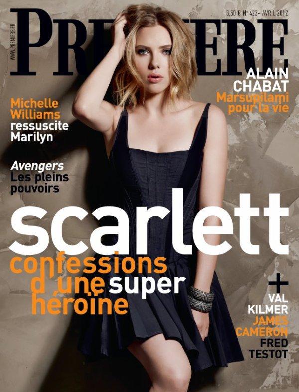 Scarlett Johansson pose pour Grazia.